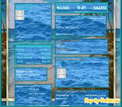 All Blue Layouts 50