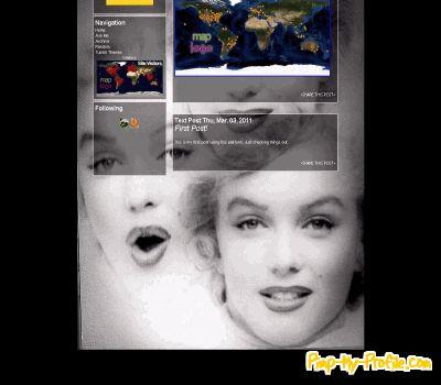 Marilyn Monroe Tumblr ...
