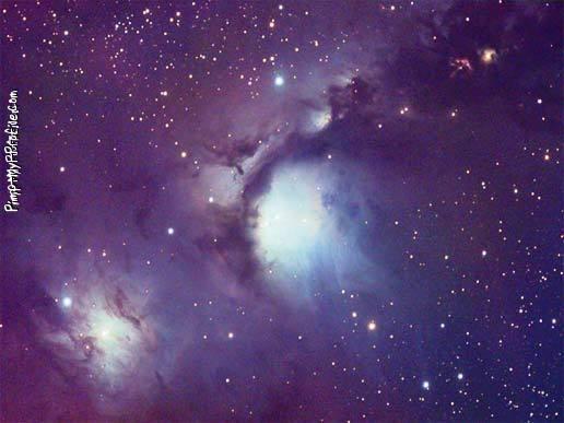 Purple galaxy Twitter Backgrounds - Pimp-My-Profile.com
