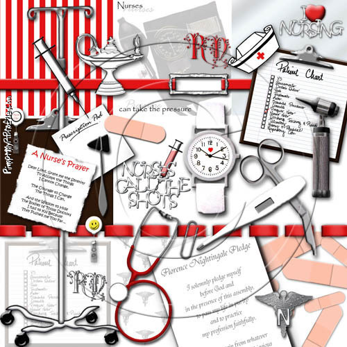 Cute Nursing Background Cute Nursing Background